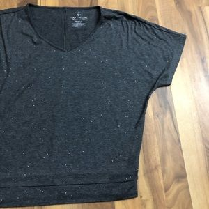 Juicy Couture Tops - JC size Small Sparkle Glitter Dolman Top